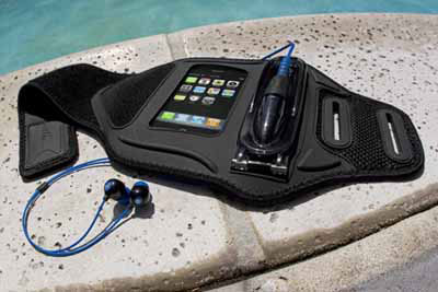 quality design 222b6 655cf Amphibx Waterproof MP3 Players Armband Waterproof iPhone