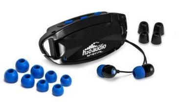 H20 Audio Interval 3G Waterproof Headphone System Earplugs