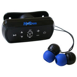 waterproof mp3 player intova h2oman G4 swim