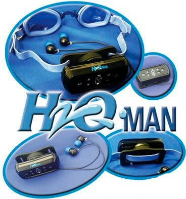 waterproof mp3 player intova h20man g4 swim