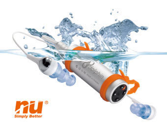 nu dolphin waterproof mp3 player
