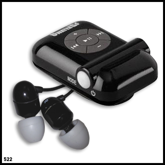 waterproof mp3 player for swimming uwaterg4