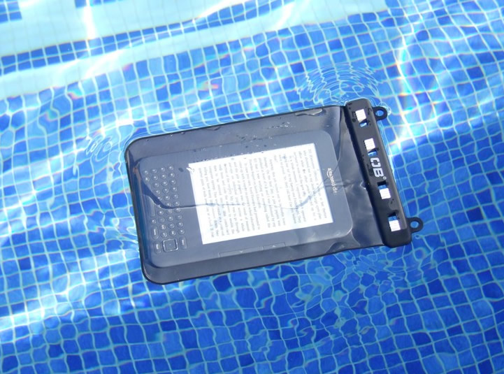 waterproof-kindle-case-pool
